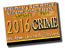 Crime in the United States 2016 preliminary