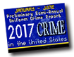 Preliminary Semiannual Uniform Crime Report, January-June 2017