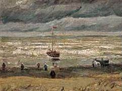 Van Gogh, View of the Sea at Scheveningen