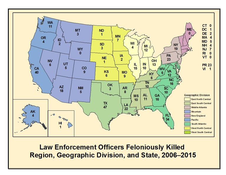Officers Feloniously Killed